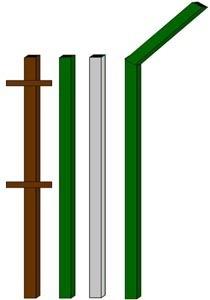 изготовление металлические столбы в Перми