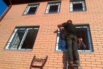 Монтаж решеток в Перми